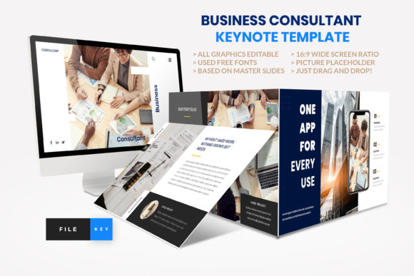 Business - Consultant Finance Keynote Graphic Presentation Templates By artstoreid