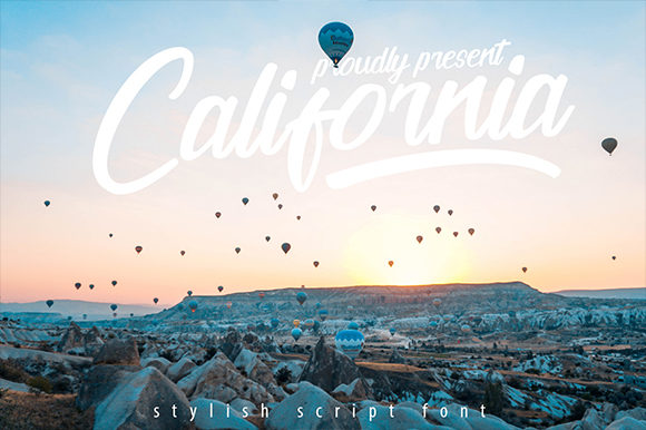 Print on Demand: California Script & Handwritten Font By candacreative