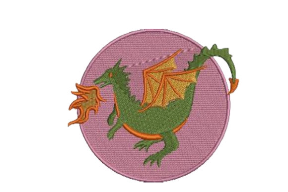 Dragon Reptiles Embroidery Design By Embroidery Designs - Image 1