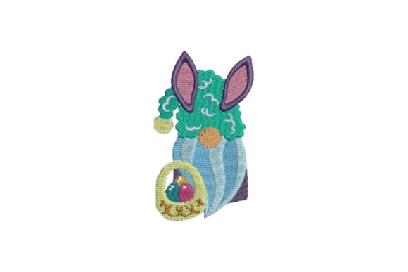Easter Gnome Easter Embroidery Design By Embroidery Designs - Image 1