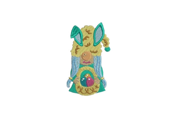 Easter Gnome Easter Embroidery Design By Embroidery Designs