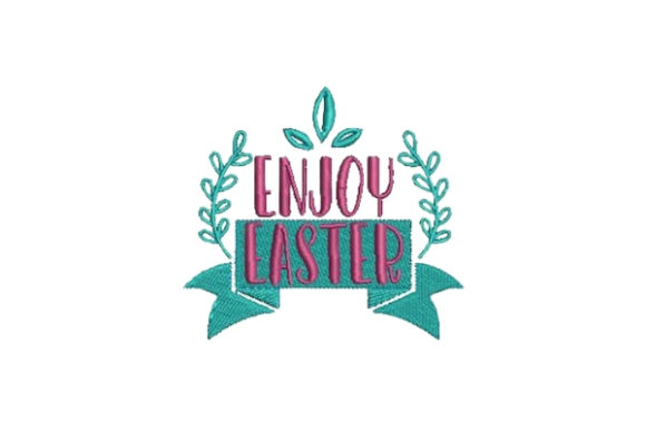 Enjoy Easter Easter Embroidery Design By Embroidery Designs - Image 1