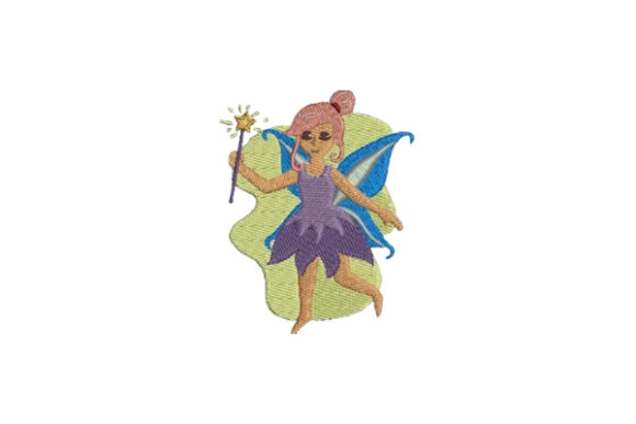 Fairy Fairy Tales Embroidery Design By Embroidery Designs
