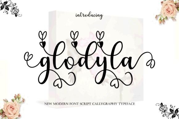 Print on Demand: Glodyla Script & Handwritten Font By MYdesign