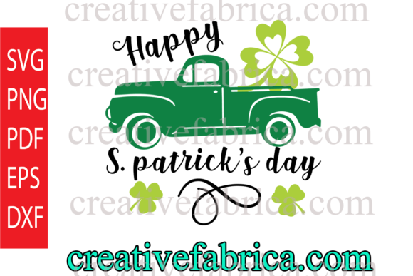 Download Free Happy St Patrick S Day Graphic By Dobey705002 Creative Fabrica for Cricut Explore, Silhouette and other cutting machines.