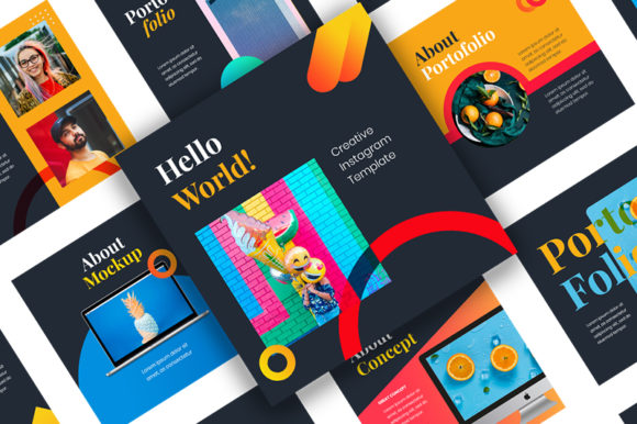 Download Free Orange Creative Cv Powerpoint Template Graphic By Ridwan Saputra for Cricut Explore, Silhouette and other cutting machines.