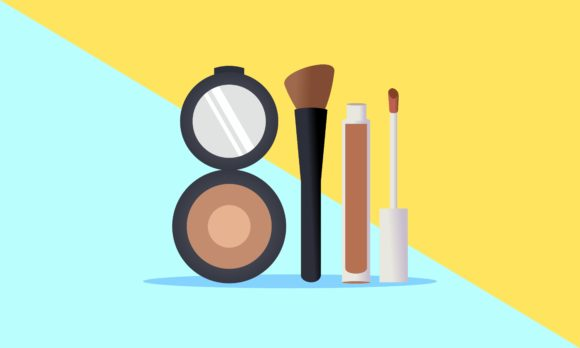 Download Free Makeup Courses Vector Logo Illustration Graphic By Deemka for Cricut Explore, Silhouette and other cutting machines.