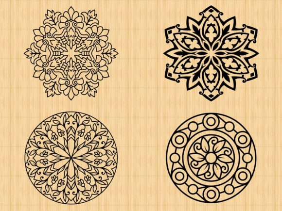 Print on Demand: <a>Mandala Designs</a> Vol. 1 Graphic Coloring Pages & Books Adults By ermannofficial