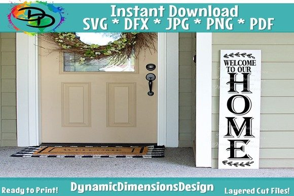 Download Porch Sign, Welcome to Our Home