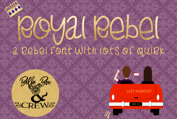 Print on Demand: Royal Rebel Serif Font By BellaBoo