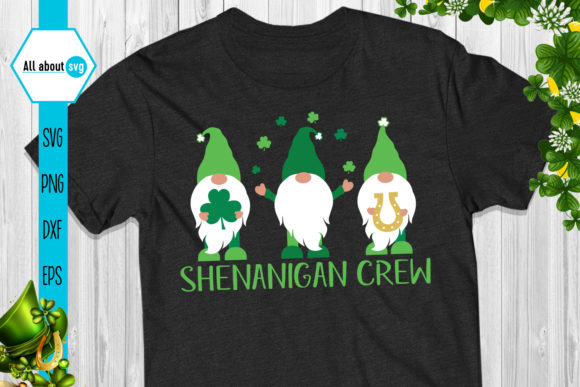 Shenanigan Crew Gnomes Graphic Crafts By All About Svg