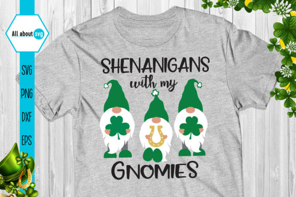 Shenanigans with My Gnomies Graphic Crafts By All About Svg