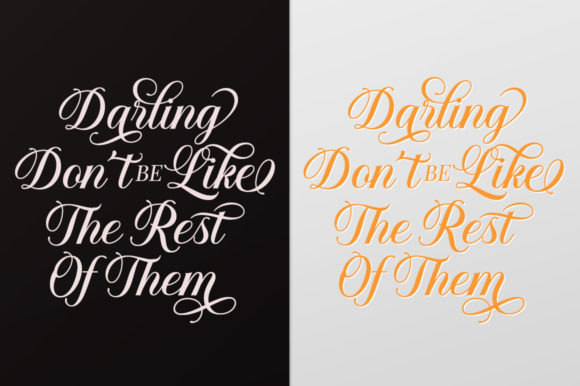 Print on Demand: Solistaria Script & Handwritten Font By Great Studio - Image 7