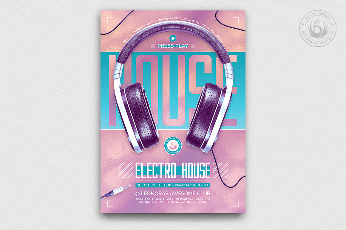 Special Dj Flyer Template V7 Graphic By Thatsdesignstore