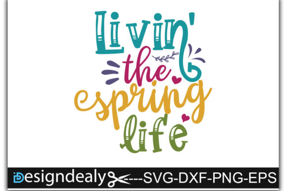 Print on Demand: Spring Quotes Bundle Graphic Print Templates By Designdealy.com - Image 6