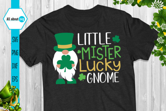 St Patrick's Day Gnomes Bundle Graphic Crafts By All About Svg - Image 4