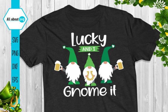 St Patrick's Day Gnomes Bundle Graphic Crafts By All About Svg - Image 5