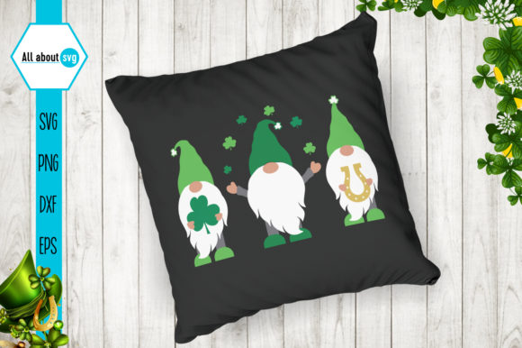 St Patrick's Day Gnomes Bundle Graphic Crafts By All About Svg - Image 7