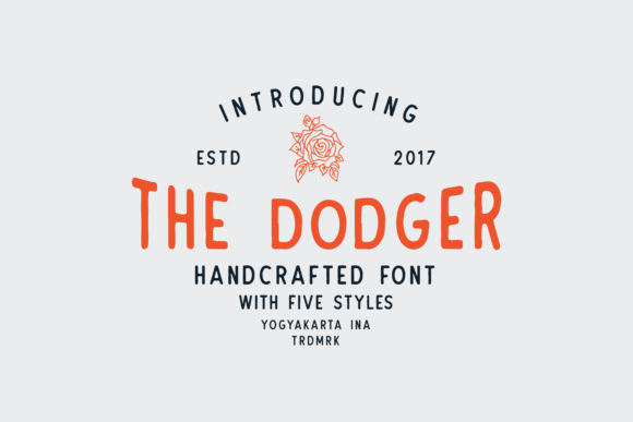Print on Demand: The Dodger Sans Serif Font By Martype.Co