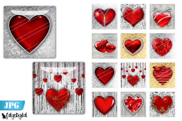 Download Free Valentine Heart 3d Printable Hearts Graphic By Catgodigital Creative Fabrica for Cricut Explore, Silhouette and other cutting machines.