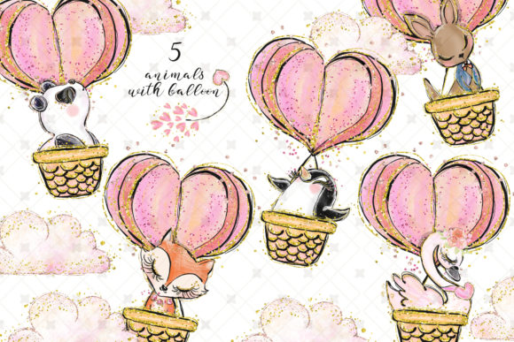 Love Clip Art (Wedding & Valentine's Day) Graphic Illustrations By Hippogifts - Image 5