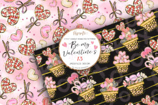 Valentine's Day Patterns Graphic Patterns By Hippogifts 3