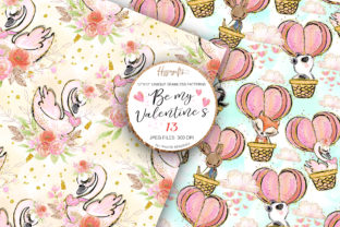 Valentine's Day Patterns Graphic Patterns By Hippogifts 4