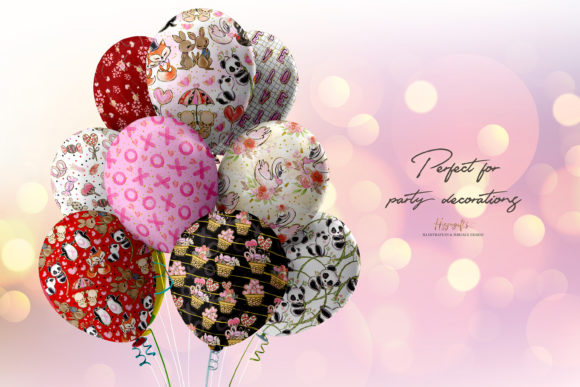 Valentine's Day Patterns Graphic Patterns By Hippogifts - Image 8