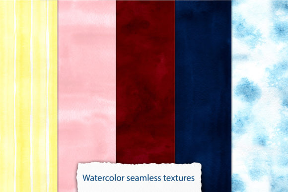 Watercolor Winter Digital Papers Graphic Illustrations By NataliMyaStore - Image 5