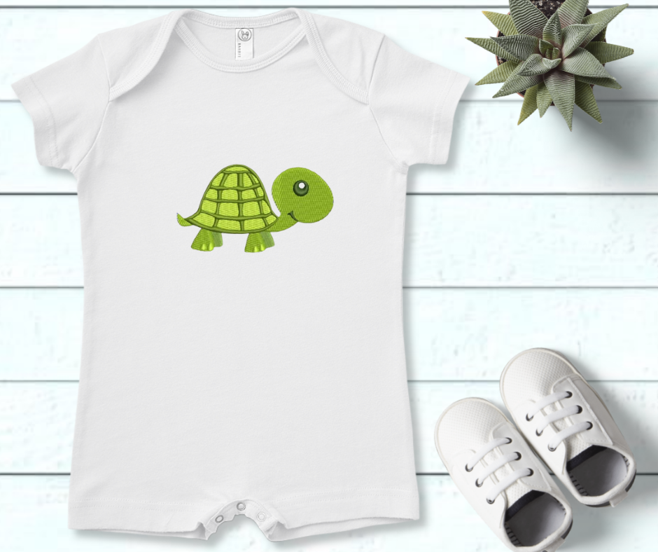Get the design here: Nursery turtle.