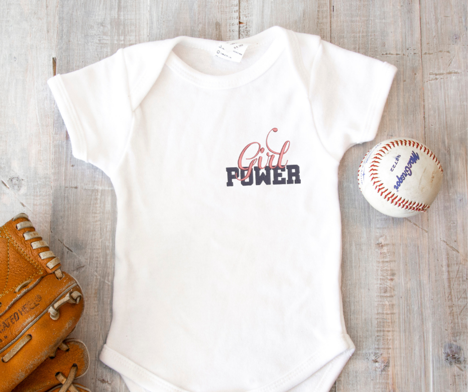 Get this design here: Girl Power.