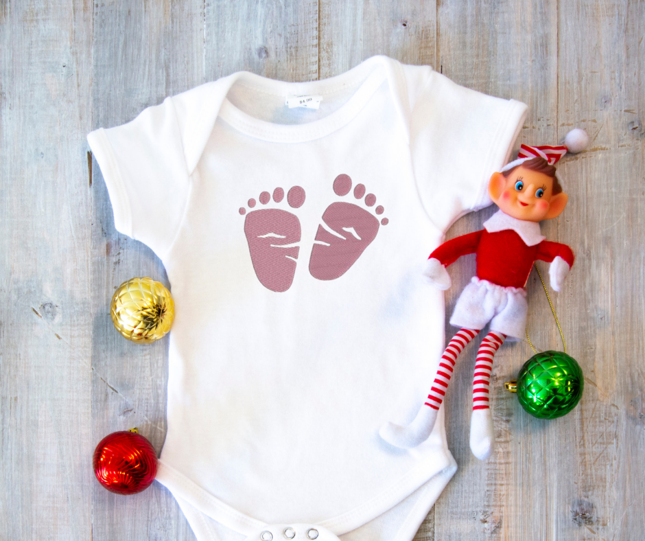 Get this design here: Baby feet.