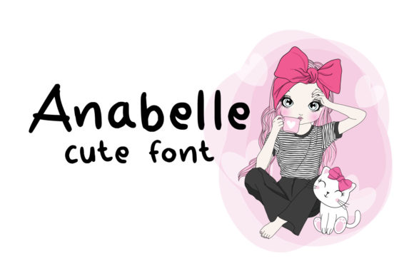 Print on Demand: Anabelle Script & Handwritten Font By Cititype