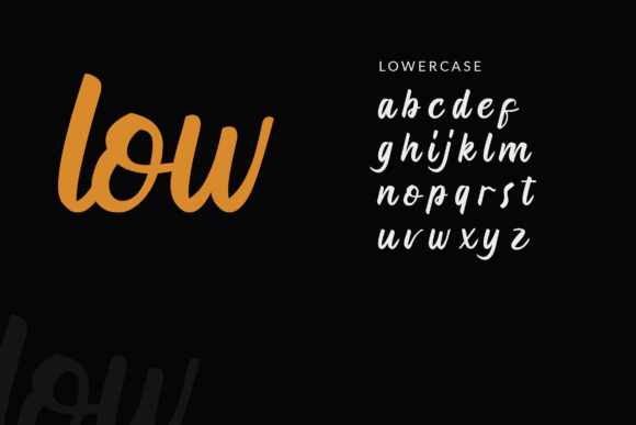 Print on Demand: Anghora Script & Handwritten Font By ahweproject - Image 3