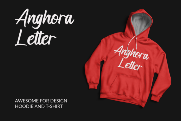 Print on Demand: Anghora Script & Handwritten Font By ahweproject - Image 8
