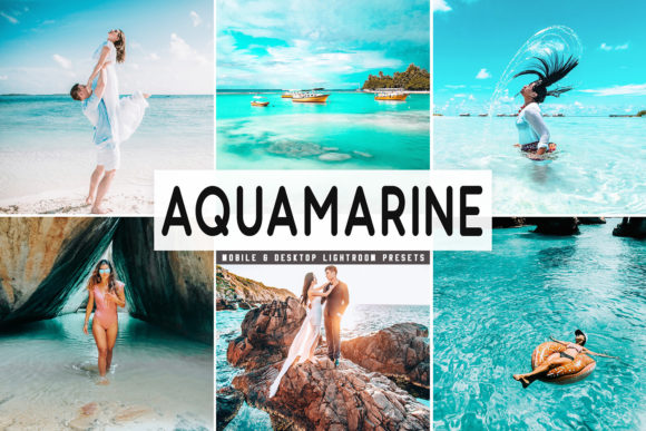 Download Free Aquamarine Lightroom Presets Pack Graphic By Creative Tacos for Cricut Explore, Silhouette and other cutting machines.