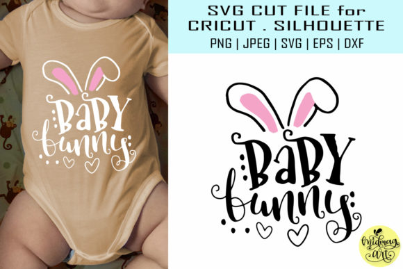 Download Free Baby Bunny Graphic By Midmagart Creative Fabrica SVG Cut Files