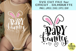 Download Free Baby Bunny Graphic By Midmagart Creative Fabrica for Cricut Explore, Silhouette and other cutting machines.