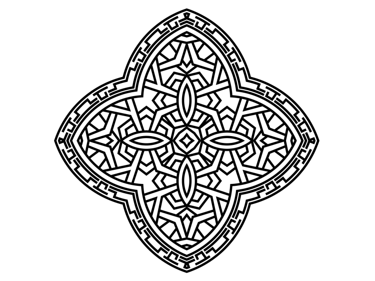 Download Free Beautiful Mandala Design 138 Grafik Von Ermannofficial for Cricut Explore, Silhouette and other cutting machines.