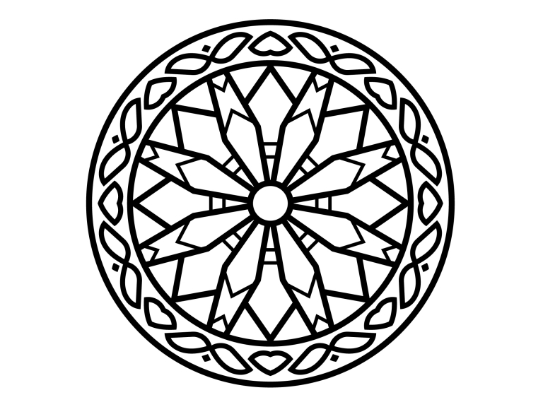Download Free Beautiful Mandala Design 148 Graphic By Ermannofficial for Cricut Explore, Silhouette and other cutting machines.
