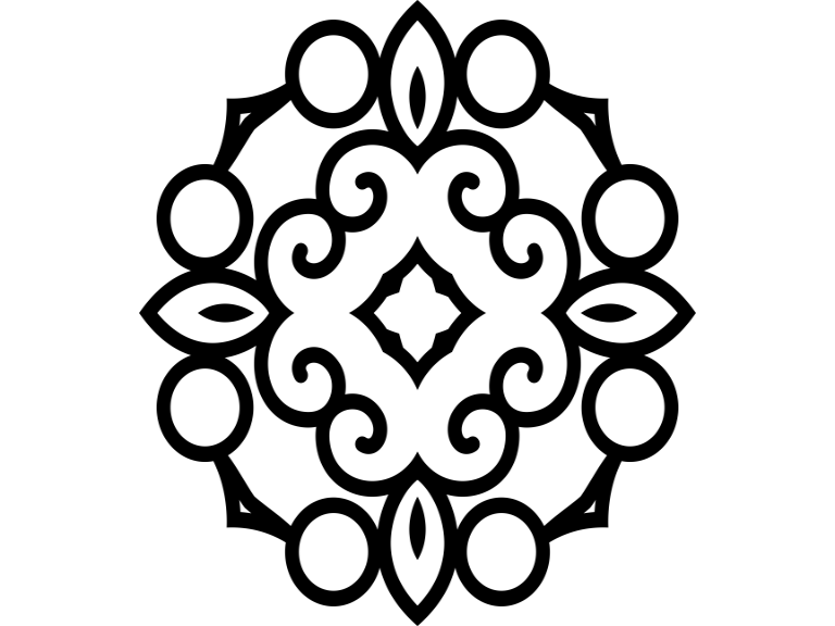 Download Free Beautiful Mandala Design 90 Graphic By Ermannofficial Creative SVG Cut Files