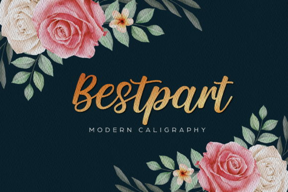Print on Demand: Bestpart Script & Handwritten Font By Typestory
