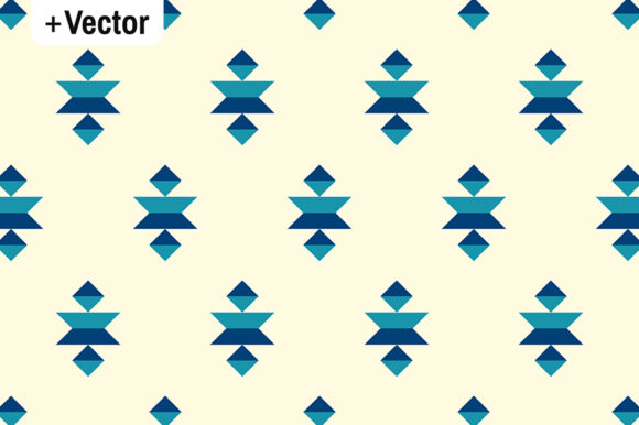 Download Free Classic Blue Bauhaus Geometric Pattern Graphic By Dana Du Design for Cricut Explore, Silhouette and other cutting machines.