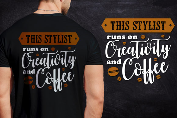 Coffee Quote & T-shirt Design Graphic Illustrations By Creative Fabrica Freebies - Image 3