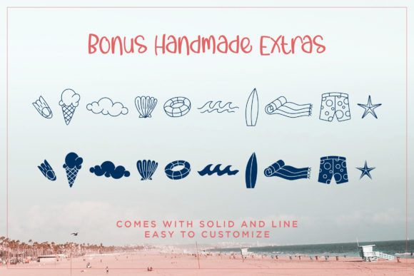 Print on Demand: Comes in Waves Script & Handwritten Font By Rifki (7ntypes) - Image 4