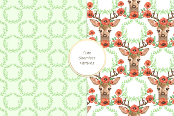Cute Deer Cliparts Graphic Illustrations By NataliMyaStore - Image 4