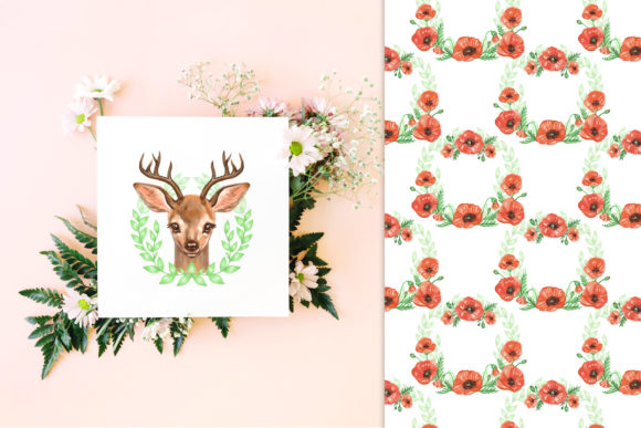 Cute Deer Cliparts Graphic Illustrations By NataliMyaStore - Image 5