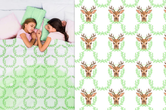 Cute Deer Cliparts Graphic Illustrations By NataliMyaStore - Image 6