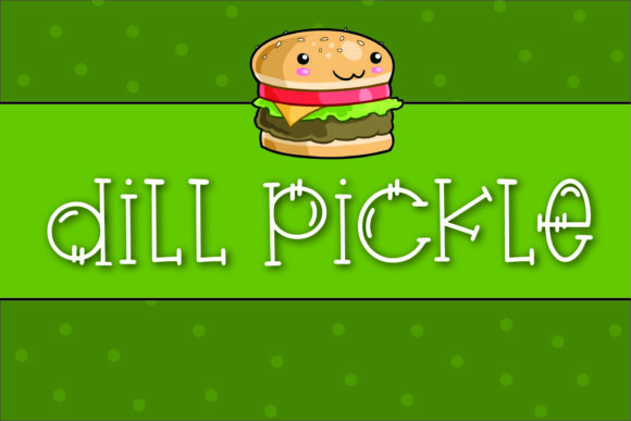 Print on Demand: Dill Pickle Serif Font By browncowcreatives - Image 1