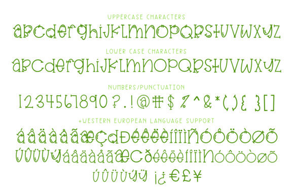 Print on Demand: Dill Pickle Serif Font By browncowcreatives - Image 2